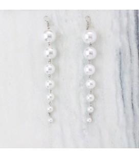 Aritos de perlas