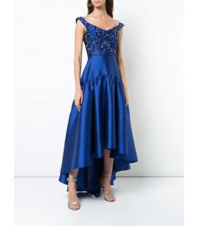 Satins in royal blue
